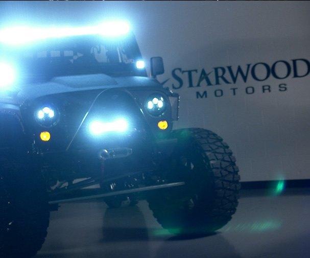 Автомастерская Starwood Motors представила новый кастом на базе Jeep Wrangler. Изображение № 7.