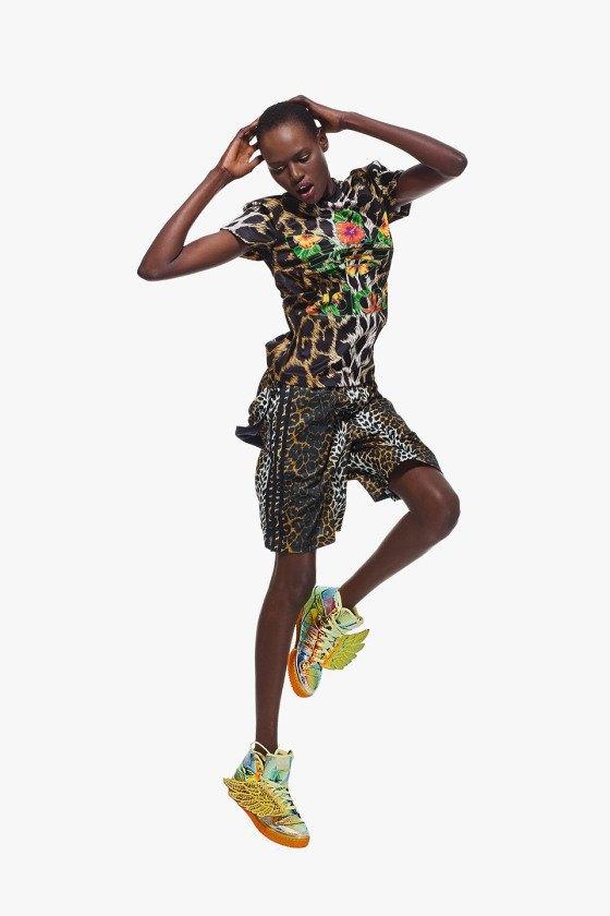 Adidas Originals и Джереми Скотт выпустили лукбук новой коллекции. Изображение № 13.