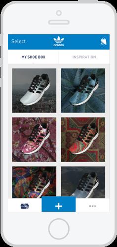 Как превратить фотографию со своего iPhone в кастомный кроссовок с помощью приложения Adidas. Изображение № 3.