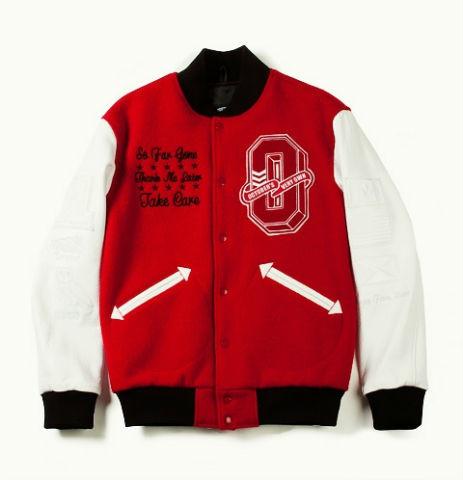 Коллекция университетских курток хип-хоп музыканта Дрейка. Изображение № 3.