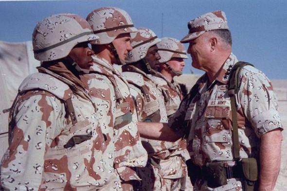 Форма американских военных, 1991 год. Изображение № 2.