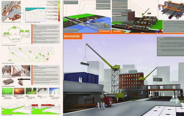 На коробке: Корабельные контейнеры как жилье на случай катастрофы. Изображение № 6.