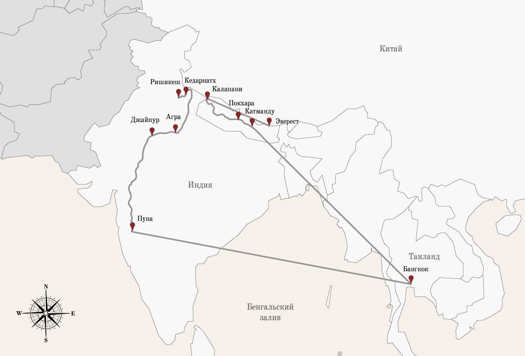 «Нет ничего лучше гор, мотоцикла и бесконечной дороги под ним»: Путешествие по Азии на двух колёсах. Изображение № 2.