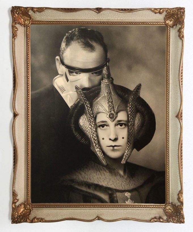 Foto Marvellini: Винтажный фотоальбом супергероев. Изображение № 2.