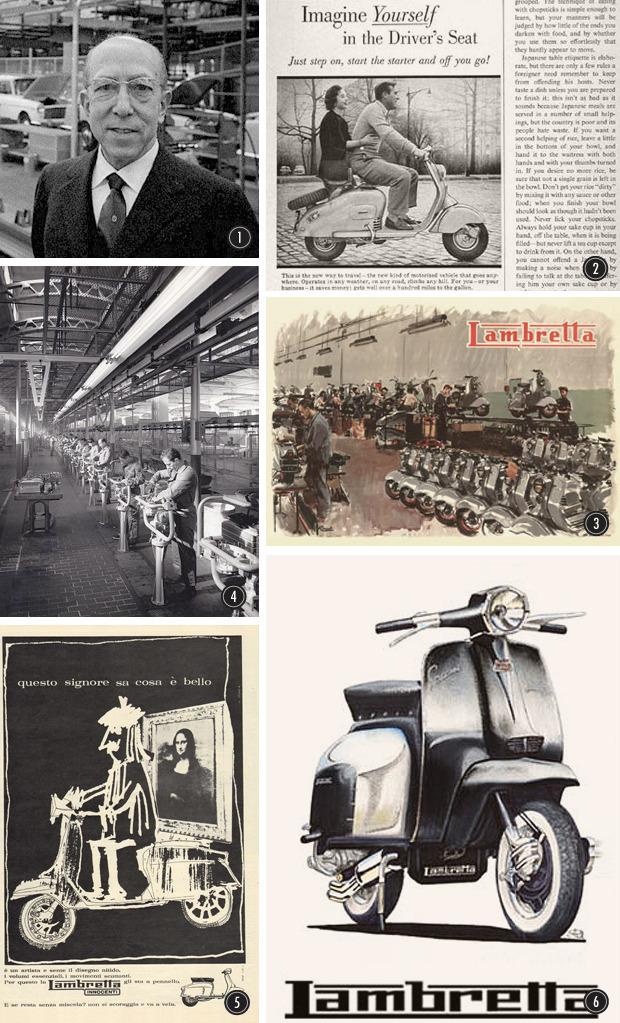 Малым ходом: История расцвета и банкротства легендарной марки мотороллеров Lambretta. Изображение № 1.