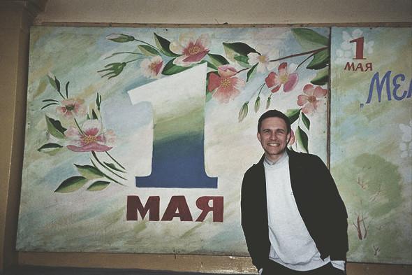 1 мая, «Труд» и Жора Кушнаренко. Фотограф: Ильдар Иксанов. Изображение № 2.