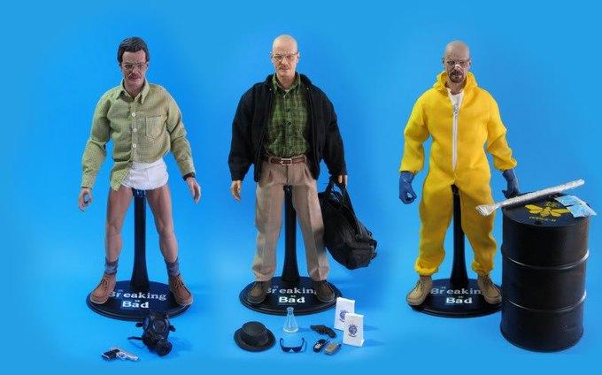 Фигурки главных героев сериала «Во все тяжкие» сняли с продаж в США. Изображение № 1.