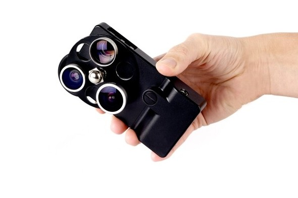 Корпус для iPhone с тремя фотообъективами. Изображение № 9.