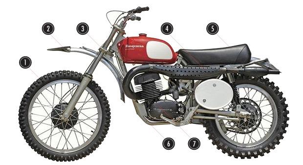 История и стилевые особенности эндуро и скрэмблеров — мотоциклов для езды по бездорожью. Изображение №4.