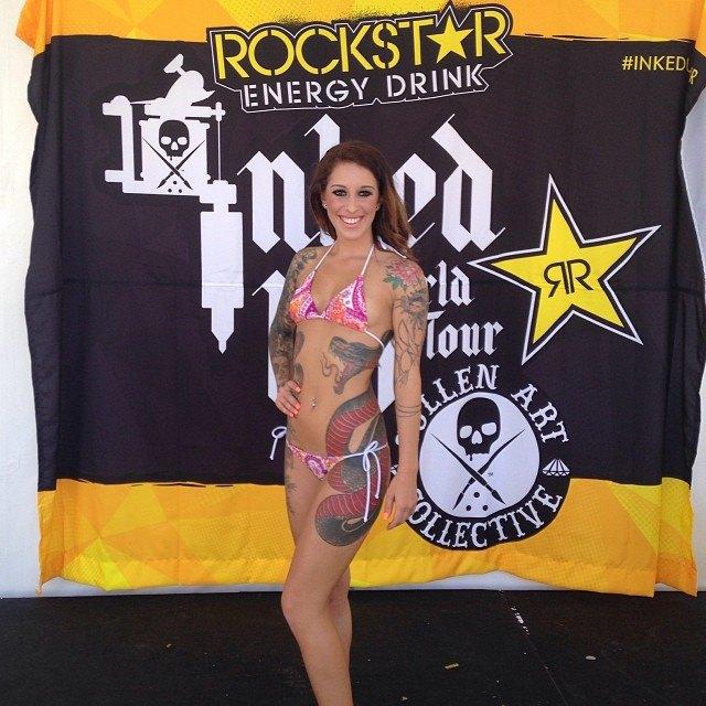 Австралийская выставка Tattoo and Body Art Expo в Instagram-фотографиях её участников. Изображение № 27.