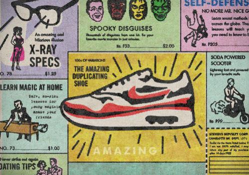Книга иллюстраций, посвящённая кроссовкам Nike Air Max. Изображение № 12.