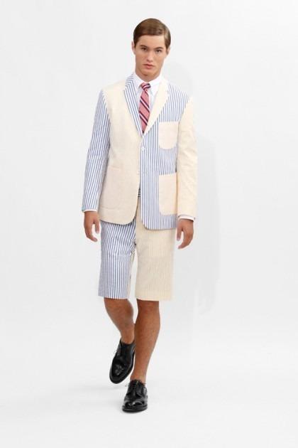 Марка Brooks Brothers представила новую коллекцию одежды линейки Black Fleece . Изображение № 15.