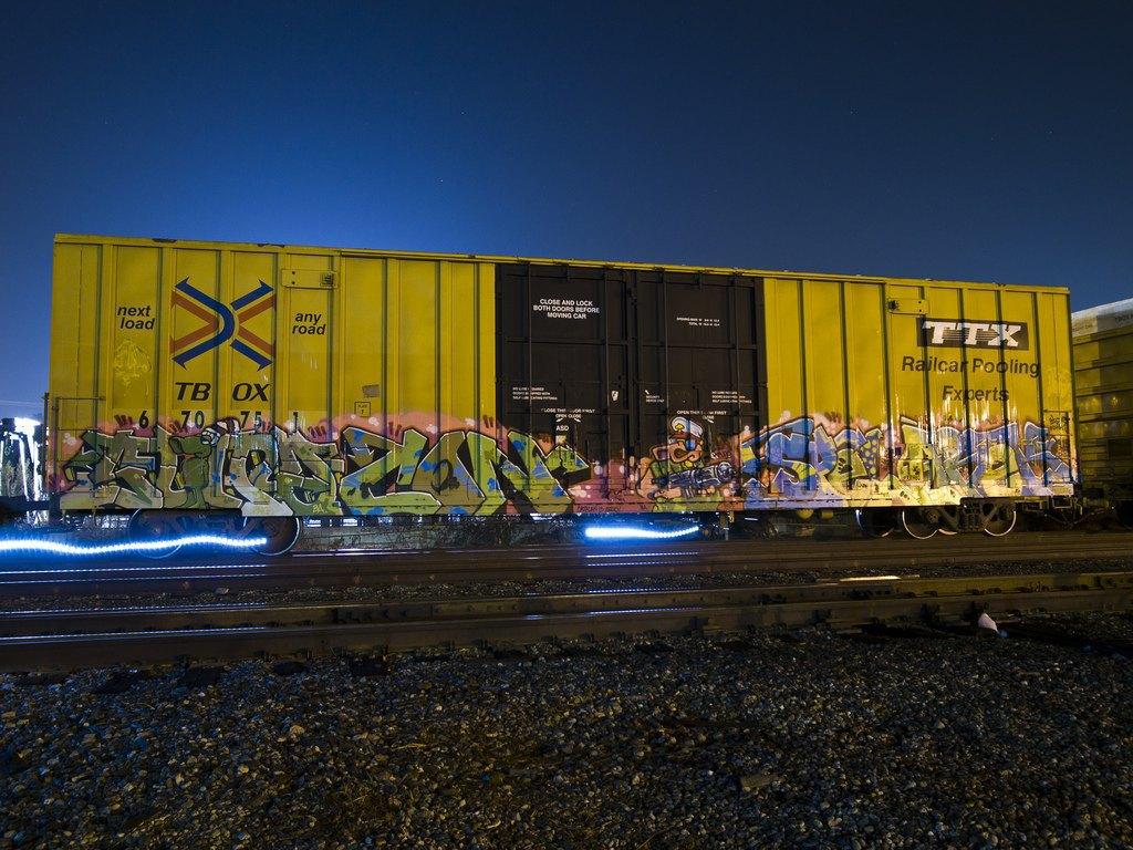 True 2 Death: Блог о разрисованных поездах из Южной Калифорнии. Изображение № 1.