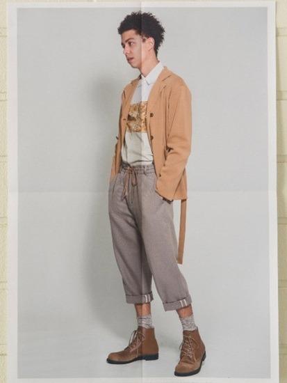Японская марка Discovered выпустила лукбук весенней коллекции одежды. Изображение № 9.