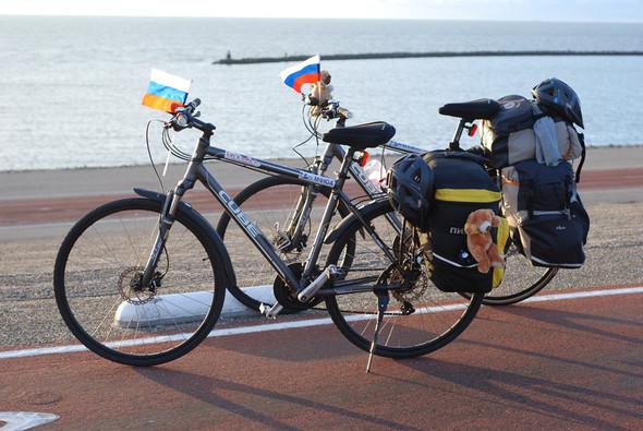 Фильм о путешествии из России в Португалию на велосипедах. Изображение № 14.