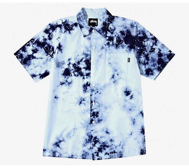 Марка Stussy выпустила коллекцию одежды, раскрашенной в стиле тай-дай. Изображение № 10.