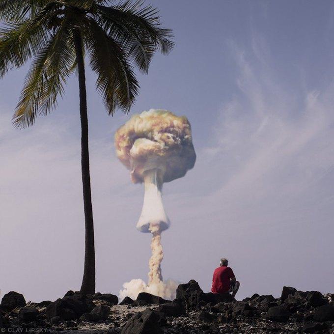 Atomic Overlook: Атомный взрыв как туристический объект на фото Клэя Липски. Изображение № 2.