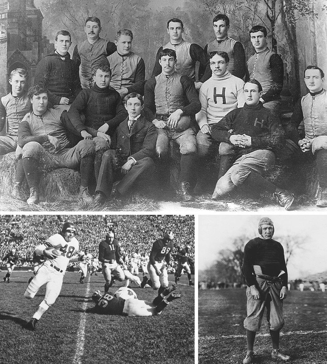 История, правила и команды американского футбола. Изображение № 2.