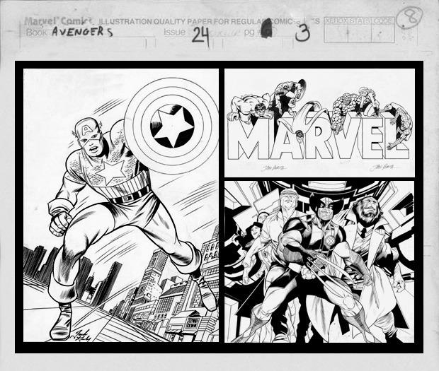 Нерассказанная история: Взгляд на Marvel изнутри и художники комиксов как настоящие рок-звезды. Изображение № 4.