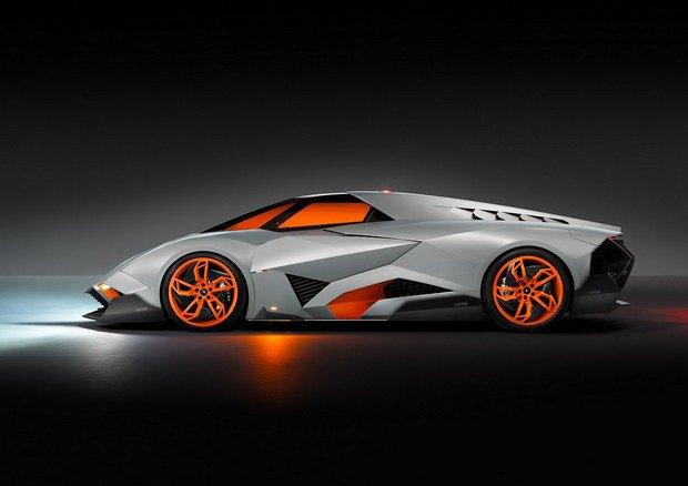 Lamborghini представили концепт одноместного суперкара Egoista. Изображение № 2.