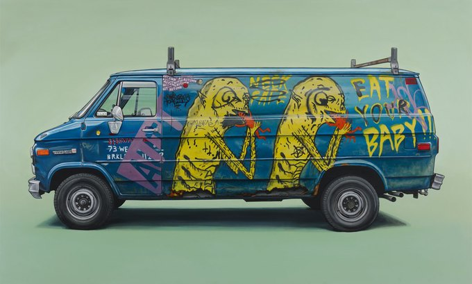 Кевин Сир: Граффити на фургонах как символ города. Изображение № 6.