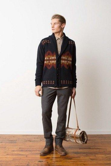 Марка Pendleton выпустила лукбук осенней коллекции одежды. Изображение № 19.