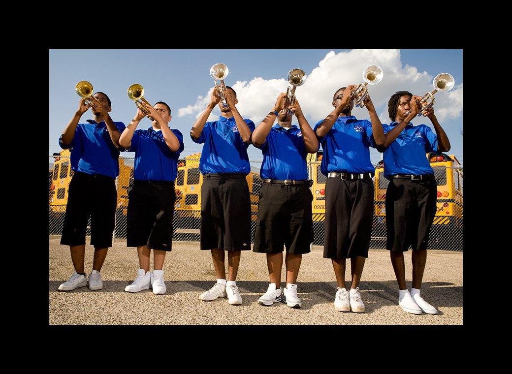 Труба зовёт: Как соревнуются школьные музыкальные оркестры в США. Изображение № 4.