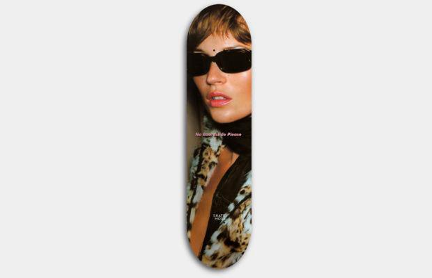 Художник Джефф Гаудинет выпустил серию дек для скейтбординга с портретами Кейт Мосс. Изображение № 8.