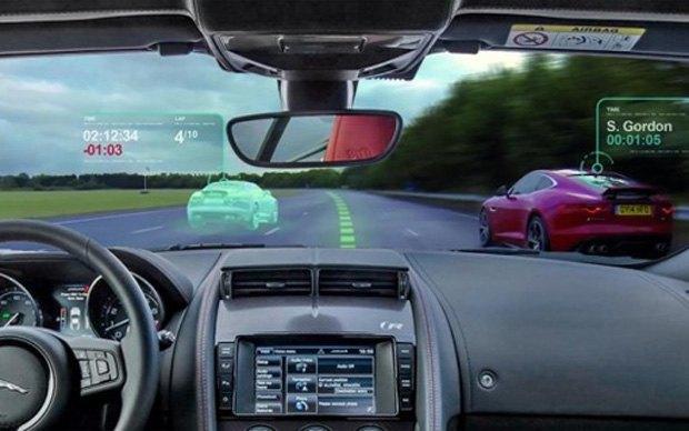 Jaguar анонсировал ветровое стекло дополненной реальности. Изображение № 2.