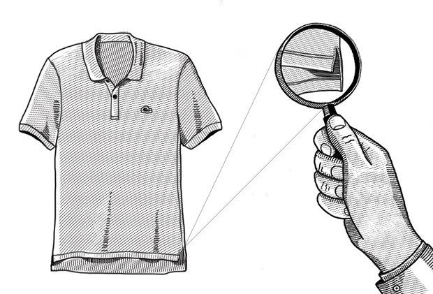 Внимание к деталям: Почему задняя часть рубашки поло длиннее передней. Изображение № 1.
