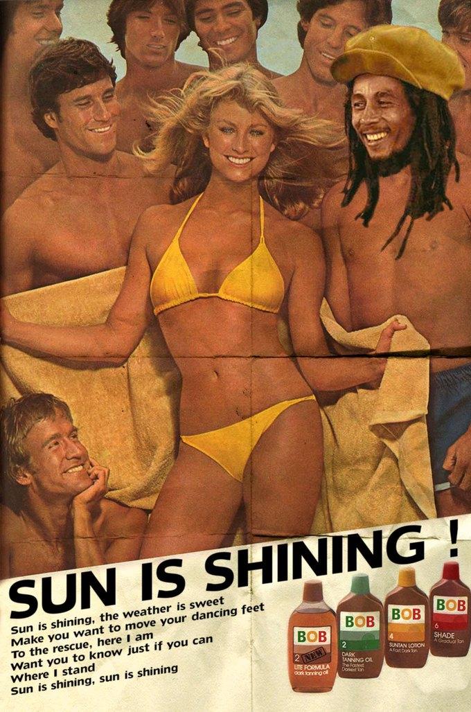 Ads Libitum: Звезды поп-культуры на винтажных рекламных плакатах. Изображение № 19.