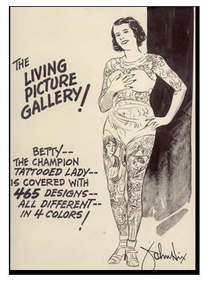 Место занято: Как менялось отношение к сильно татуированным людям. Изображение № 4.