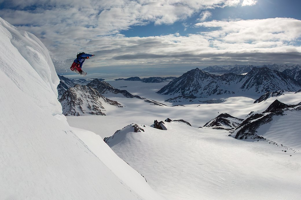 Фотопроект: 10 лет катания по самым экстремальным горам планеты . Изображение № 8.