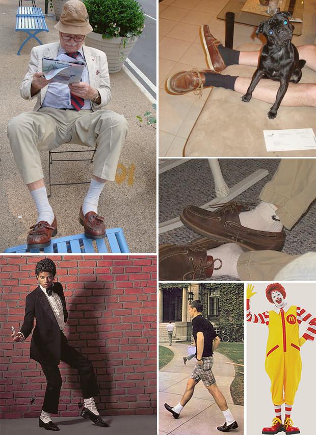 Как правильно носить лоферы с носками?. Изображение № 8.