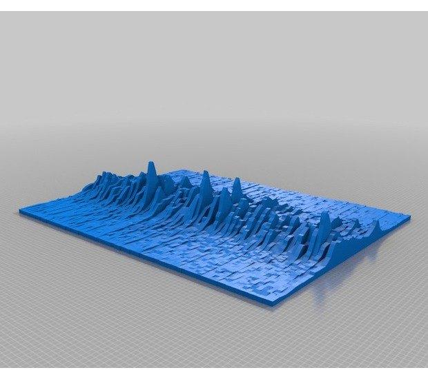 Обложку альбома Joy Division распечатали на 3D-принтере. Изображение № 3.