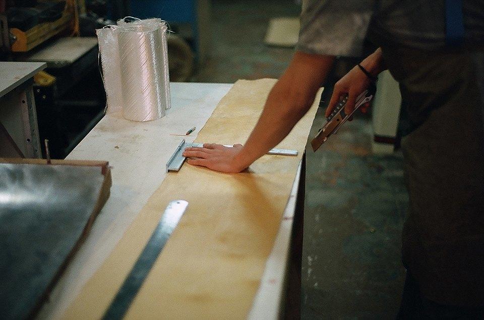 FURFUR х Pepper Customs: Как выглядит процесс создания лонгборда. Изображение № 2.