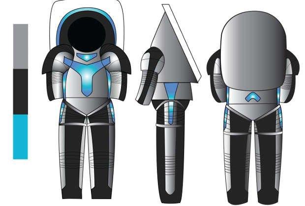 В NASA представили прототип марсианского скафандра. Изображение № 1.