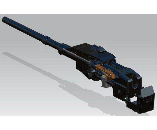 Немецкая компания изготовила трехствольный пулемет с электромотором. Изображение № 3.