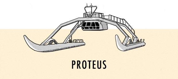Космические корабли: 5 лодок будущего —от личных «акул» до лайнера-государства. Изображение № 1.