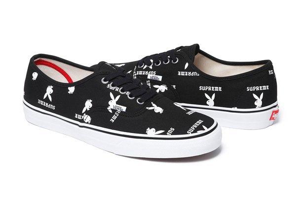 Марки Vans, Supreme и  Playboy выпустили совместную коллекцию обуви. Изображение № 13.