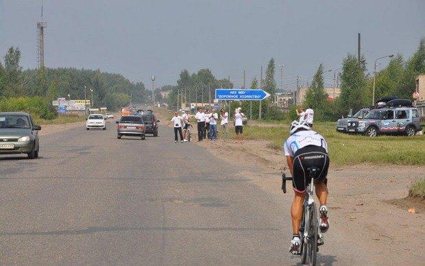 Стартовал велопробег Москва — Владивосток Race Across Russia 2013. Изображение № 6.