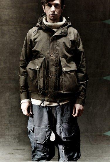 Марка Nigel Cabourn выпустила лукбук осенней коллекции одежды. Изображение № 5.