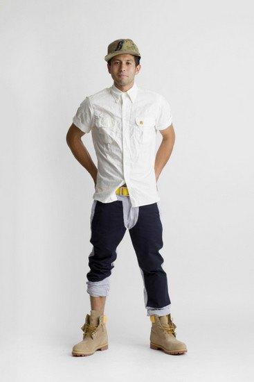 Марка Billionaire Boys Club опубликовала лукбук весенней коллекции одежды своей линейки Bee Line. Изображение № 18.