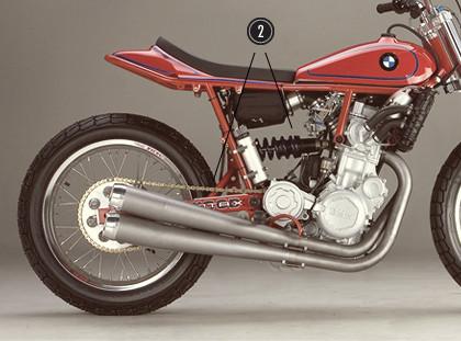 История и особенности мотоциклов для гонок по грязевому овалу —флэт-трекеров. Изображение № 9.