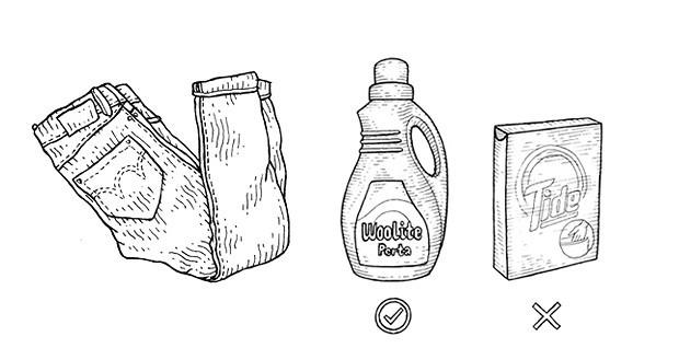 Совет: Как стирать джинсы из сухого денима. Изображение № 2.