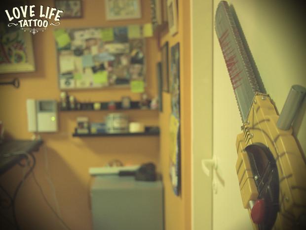Репортаж из нового помещения Love Life Tattoo. Изображение № 18.