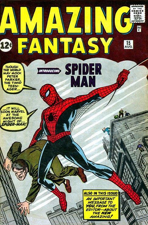 Первый комикс о Человеке-пауке продали на аукционе за 191 тысячу долларов. Изображение № 1.