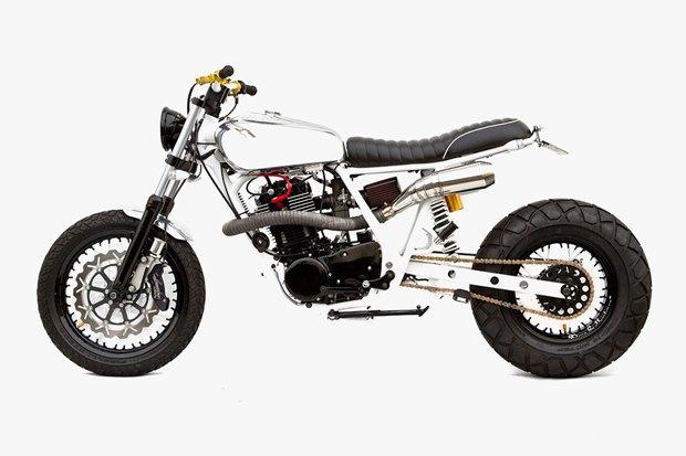 Мастерская Deus Ex Machina представила кастом на базе Yamaha SR400 . Изображение № 1.
