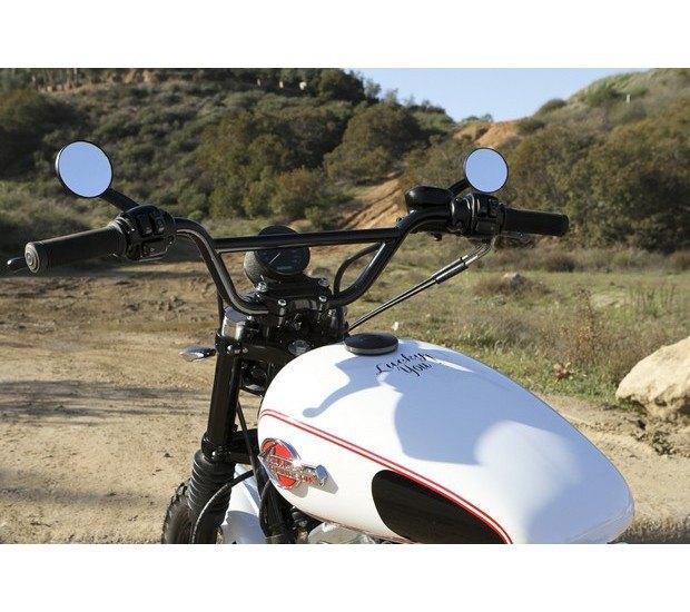 Мастерская Burly Brand представила скрэмблер на основе Harley-Davidson Sportster. Изображение № 8.