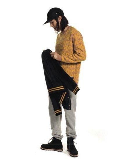 Марка Stussy выпустила осенний лукбук с участием рэпера A$AP Illz. Изображение № 12.